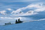 Snowmobiling in Nunavik